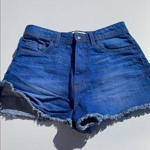 Forever 21 Denim Cut Off Shorts